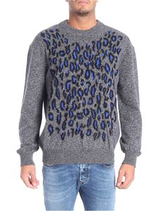 Kenzo - Grey animal pattern pullover