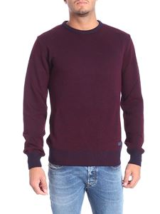 Trussardi Jeans - Blue and burgundy pullover