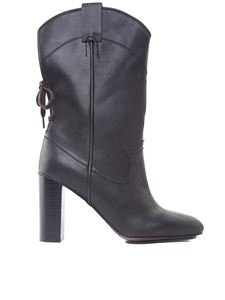 See by Chloé - Annika western style black boots