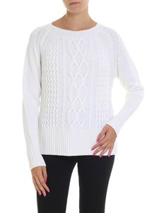 Woolrich - White knitted pullover