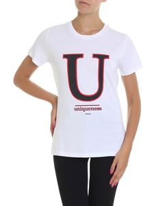 Pinko Uniqueness - White Ciuffo T-shirt