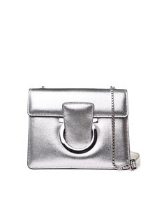 Salvatore Ferragamo - Thalia silver shoulder bag