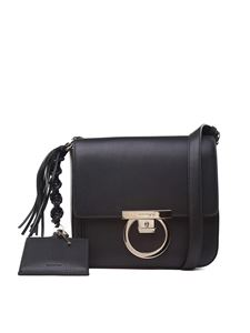 Salvatore Ferragamo - Black Lock shoulder bag