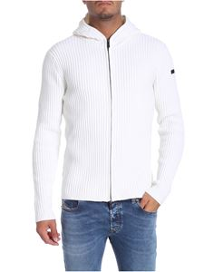 RRD Roberto Ricci Designs - White hooded cardigan