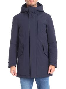 Woolrich - Military Stretch blue down jacket
