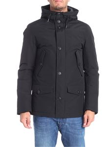 Penn-Rich - Ebony Parka army black jacket