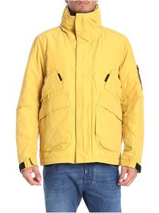 Stone Island - Yellow padded Primaloft jacket