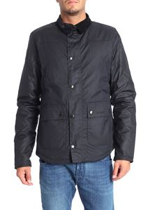 Barbour - Wax Reelin blue jacket