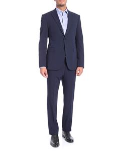 Emporio Armani - 2 blue two-button suit