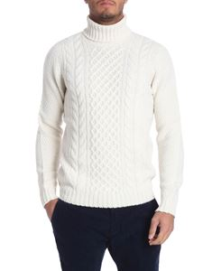 Drumohr - Tricot cream-colored turtleneck