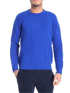 Drumohr - Electric blue tricot pullover
