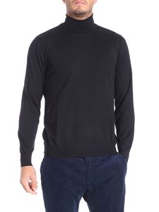 Fedeli - Black wool turtleneck