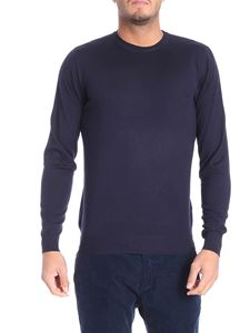 Fedeli - Dark blue wool sweater