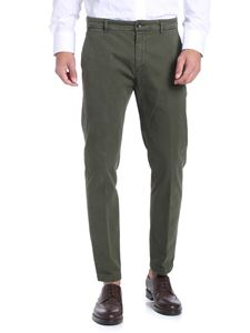 Department 5 - Army green cotton trousers