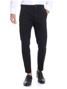 Department 5 - Black cotton trousers