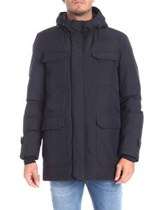Herno Laminar - Black Gorotex down jacket