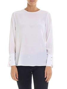 Barba - White blouse with buttons
