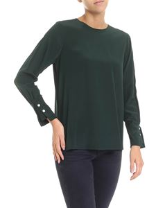Barba - Green blouse with buttons