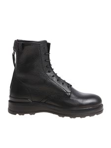 Woolrich - Black ankle boots with zip