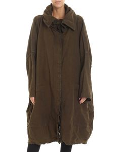 Rundholz - Overfit green single-breasted coat