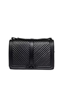 Rebecca Minkoff - Jumbo Love black crossbody bag