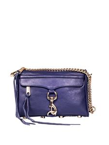 Rebecca Minkoff - Blue Mini Mac bag