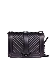 Rebecca Minkoff - Love black shoulder bag