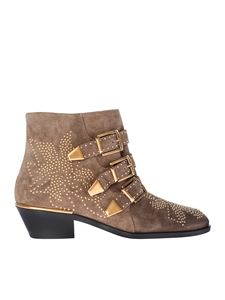Chloé - Susanna ankle boots with studs