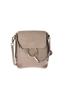 Chloé - Faye grey backpack