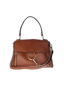 Chloé - Medium Faye brown bag