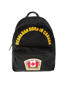 Dsquared2 - Zaino Canadian Flag blu