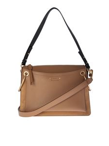 Chloé - Borsa Roy Medium marrone