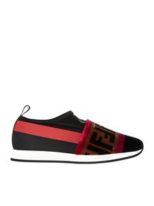Fendi - Technical fabric Colibrì slip-on