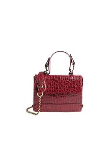 Antonio Marras - Franci burgundy shoulder bag