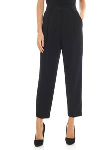 Parosh - Black crop pants
