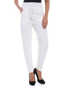 Le Tricot Perugia - Stretch technical fabric trousers
