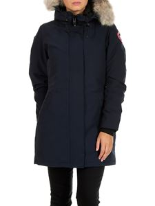 Canada Goose - Victoria blue down padded parka