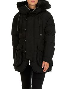Dsquared2 - Black hooded down jacket