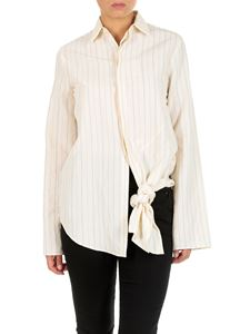 Loewe - Striped shirt with knot