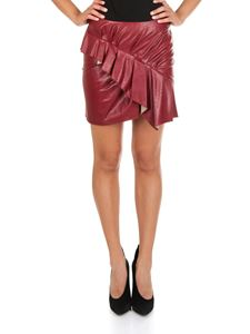 Isabel Marant Étoile - Zeist red eco-leather skirt