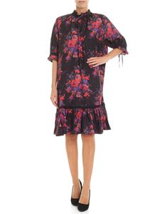 McQ Alexander Mcqueen - Multicolor floral dress