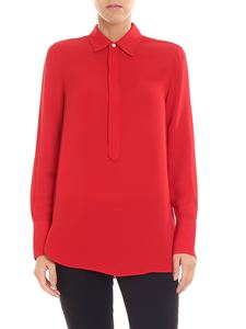 POLO Ralph Lauren - Red crepe blouse