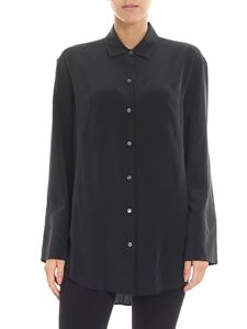 Equipment - Coco overfit black shirt