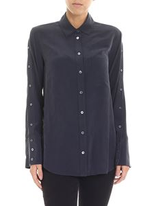 Equipment - Anthracite color Brayden shirt with chest pocket