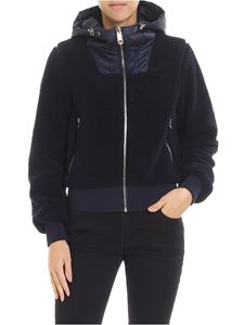Tommy Hilfiger - Annabel padded reversible blue jacket