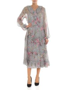POLO Ralph Lauren - Grey and pink floral dress