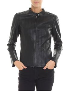 Desa 1972 - Black nappa jacket