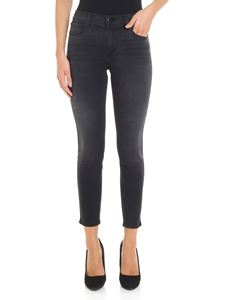 J Brand - 5-pocket délavé black jeans
