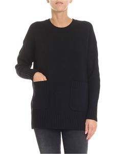 POLO Ralph Lauren - Black pullover with patch pockets
