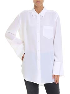 Equipment - Coco white overfit shirt